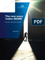 The New Wave Indian MSME by CII & KPMG (1)