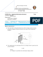 Report on Hall Effect Transducers