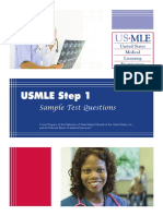 2014 Step 1 Sample Exam