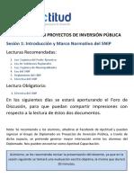 Indicaciones Sesión 1. DPIP