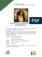 Invitación a Tertulia el proximo 20 de Julio