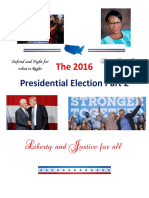 The 2016 Presidential Election Part 2