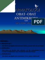 Farmakologi Obat Obat Antimikroba - 2012
