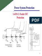 1 4 Part 2 Feeder OC EF Protection