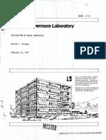 Calculation of Brine Properties, Gerald l. Dottman, 1977,26 Pgs