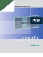 SIMATIC Microbox PC 420 Operating Instructions