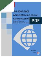 Resumen Ejecutivo ISO 9004_2009