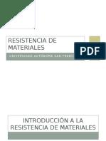 Primera Clase - Resistencia de Materiales