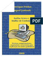 Análise Léxica e Análise de Conteúdo_freitas e Janissek_2000