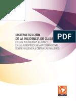 Sistematización incidencia Cladem