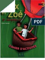alex et zoe 3 cahier d`exercices