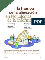 Harvard - Evitar La Trampa de La Alineación en Tecnologías de La Información(1)