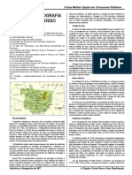 História e Geografia de Mato Grosso - Apostila