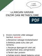 Enzim Dan Metabolisme