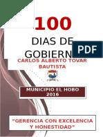 Informe 100 Dias de Gobierno