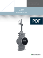 M and J Slab Gate Valve