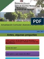Revision y Actualizacion Curricular, Seminario de Educación Física