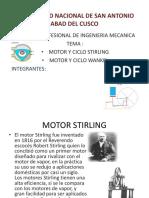 Motor y Ciclo Stirling y Wankel