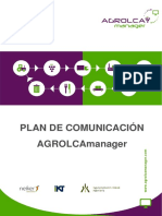 AGROLCA MANAGER Communication Plan