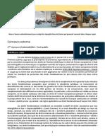 1 - Concours Externe - Droit Public