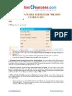 CA Refresher for IBPS Clerk Main