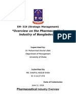 Overview on the Pharmaceutical industry of Bangladesh.doc
