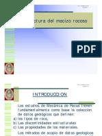 BASICO- Estructura Del Macizo Rocozo