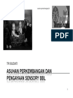Asuhan Perkembangan Dan Pengayaan Sensory Bbl [Compatibility Mode]