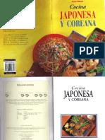 Cocina Japonesa Y Coreana