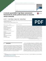 A remote quantitative Fugl-Meyer assessment framework for stroke patients based on wearable sensor networks