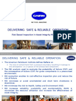 Cairn India Delivering Safe Reliable Operation