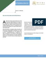 Informe Meteorológico Trimestral Abr May Jun 2016