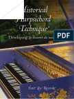 Historical Harpsichord Technique