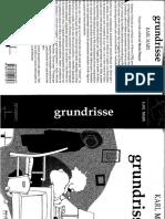 Grundisses - Karl Marx - Introdução