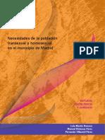 Necesidades de La Poblacion Transexual y Homosexual en Madrid