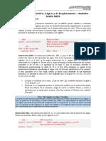 Practica 5 MIPS - Operaciones Aritmeticas, Logicas y Desplazamiento