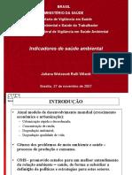 Villardi Slides-IndicadoresSaudeAmbiental 2007