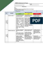 Rúbrica y Lista de Cotejo (1). Proyecto Final Administración Del Tiempo