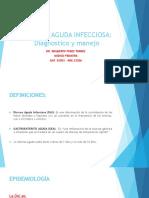 Diarrea Aguda Infecciosa