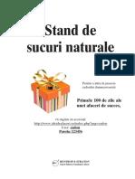 Stand Sucuri Naturale