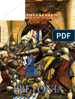 Warhammer Reforged Libro de ejercito Bretonia