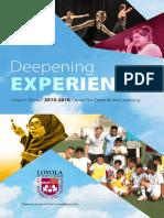 CEL 2015-2016 IMPACT Annual Report
