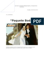 Paquete Boda