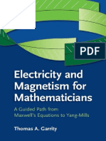 Electricity and Magnetism for Mathematicians Garrity