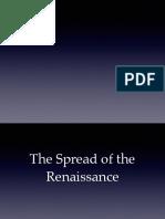 Spread of the Renaissance