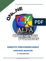 6.Direito Previdenciario Adriano Marcon 6 Encontro