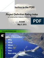 Best Practice Project Definition Rating Index