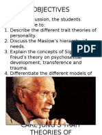 Carl Jung's Trait Theories of Personality