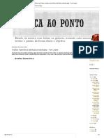Análise Harmônica Da Música Insensatez - Tom Jobim