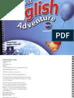 01. My First English Adventure Starter Teacher's Book